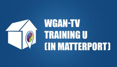 WGAN-TV Training U (in Matterport) 3D Model