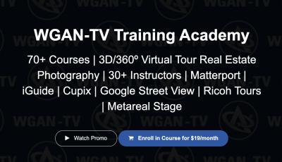 WGAN-TV Training Academy 3D Model